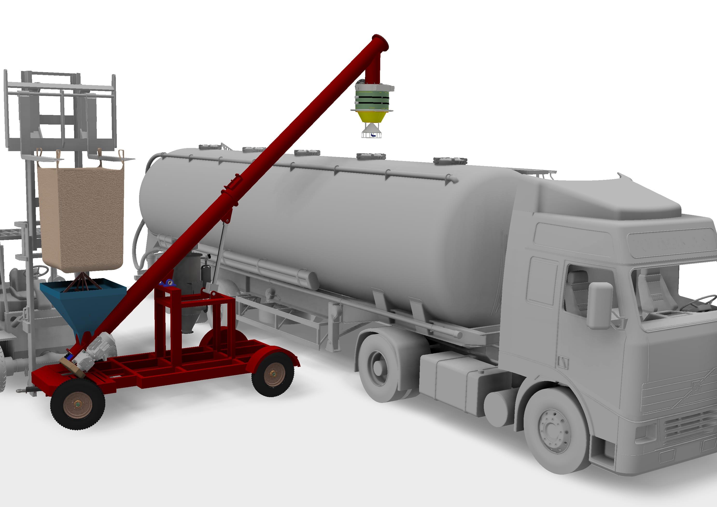 Mobile Bulk Truck Loader
