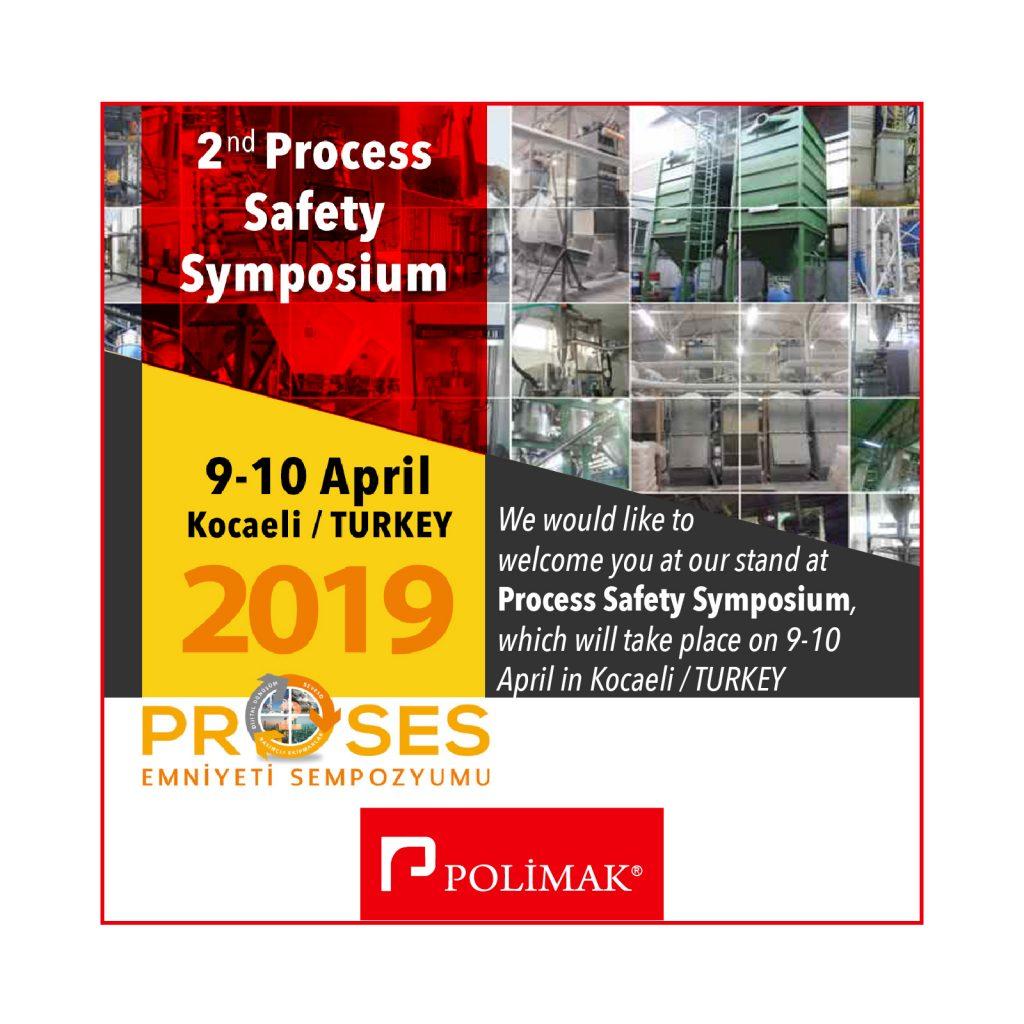 9 - 10 April 2nd Process Safety Symposium Kocaeli Turkey