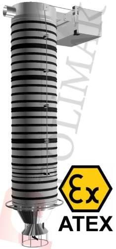 Atex sertifikası silobas dolum körüğü kamyon doldurma teleskopik yükleme sistemleri