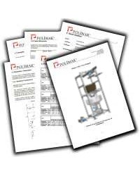 Big bag discharge system technical documents catalogs brochures user manuals