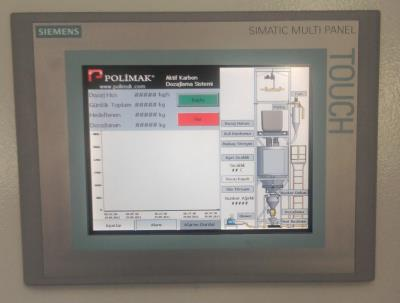 Big Bag discharge system automation PLC scada control