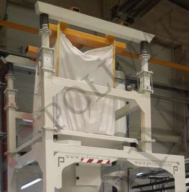 Big bag unloader FIBC hanging equipment