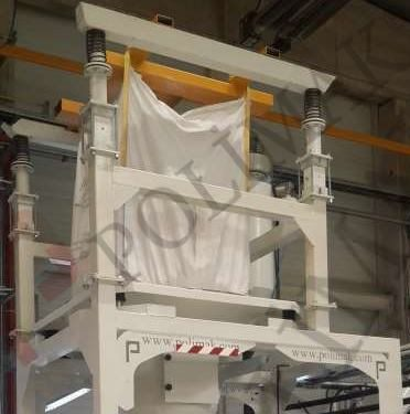 Big Bag Hanging and unloading unit