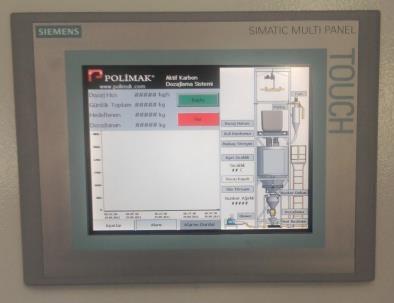 Big Bag unloading system automation PLC scada control