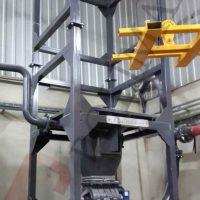 Big bag unloading system pneumatic transfer equipment