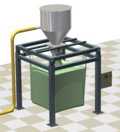 Bigbag dolum sistemi toz toplama filtresi