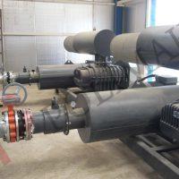 Flokülasyon tesisi maden havuz yüksek kapasiteli blower pompalar