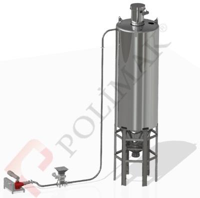 Pnömatik taşıma sistemleri hava körüğü ile hammadde transfer hava kilidi silo dolum hammdde besleme blower