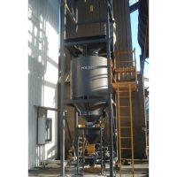 Flue gas treatment activated carbon injection