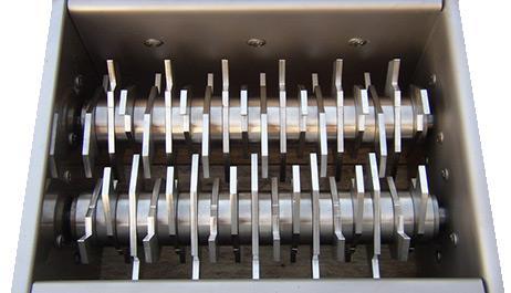 FIBC discharging lump breaker equipment