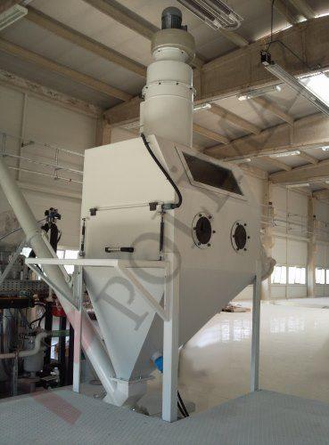 Custom designed sack tipping dump equipment and accessories