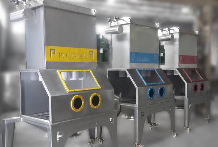 Hammadde besleme sistemi cuval bosaltma istasyonları