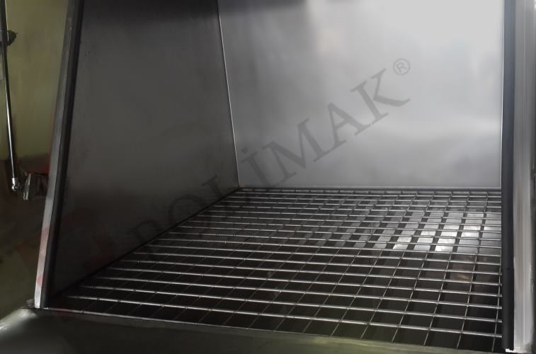 Çuval boşaltma istasyonu ızgara elek ünitesi