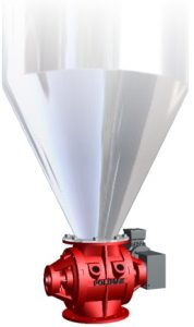 Cyclone rotary feeder