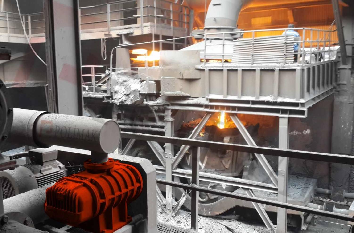 Hava körükleri demir çelik tesisleri tozsuzlaştırma blower filtre sistemleri