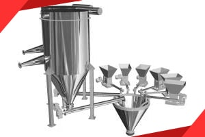 Bulk material dosing systems