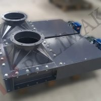 elektrik aktüatör actuator sürgülü bıçaklı hammadde akış kontrol vanaları