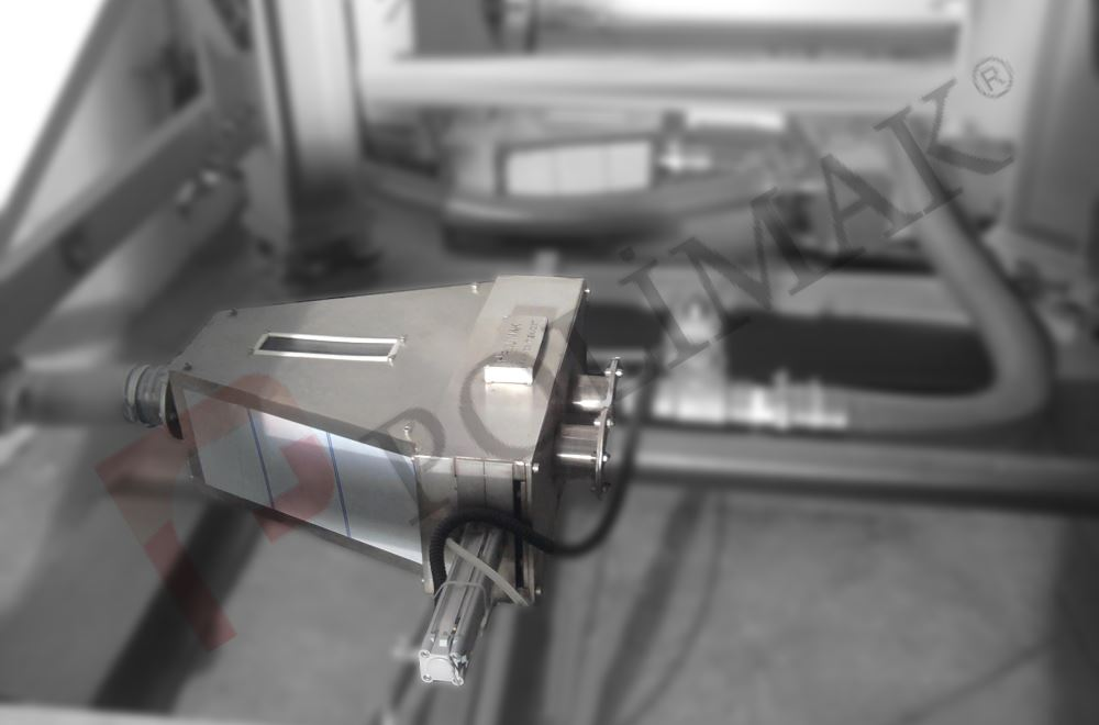 Pnömatik taşıma sistemi yönlendirme vanası esnek borulu