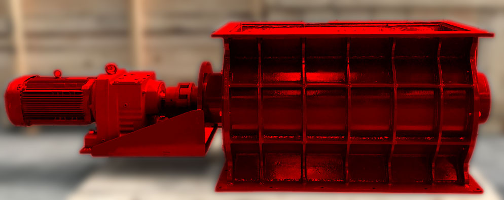 Dimension customized flow through rotary valve