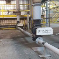 Pneumatic conveying of fly ash discharge rotary valves