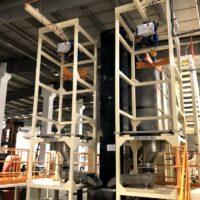 Bulk Food FIBC bag discharge systems stainless steel Bigbag unloader