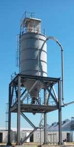 Pnömatik Transport siloüstü jet filtre