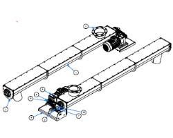 Vidalı Helezon modelleri besleyici tipleri U tipi helezon tekne helezon tüp helezonlar
