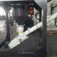 Big bag boşaltma helezon götürücü vidalı konveyör