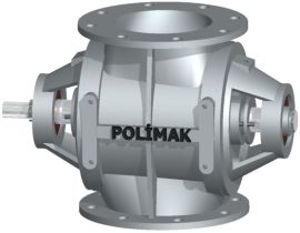 Rotary Valve With Outside Bearing