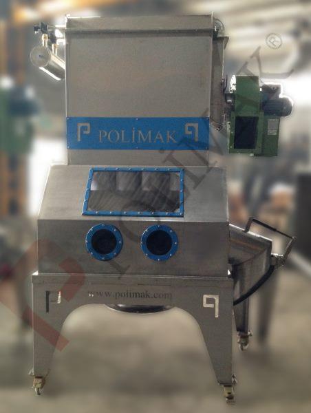Torba Boşaltma Sistemi toz sızdırmaz filtreli istasyon