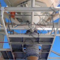 Silobas doldurma kalsit çimento yükleme körükleri