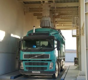 Truck Loading Bellow With Jet Filter