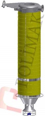Kamyon silobas yüklemesi körükleri el kontrol vinç teleskopik toplama düzeneği