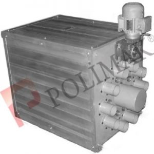 Multiport diverter valve rotary tube selector valve multiway diverter valve