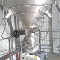 Silo vanası şiber vana malzeme transfer sistemi