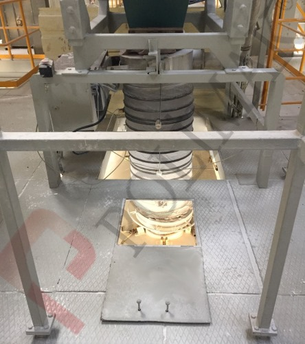 Gıda sertifikalı silobas yükleme ve dolum şutu körükleri teleskobik yükleme şutları