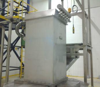 Toz toplama sistemi gıdaya uygun Sertfika