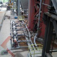 Enerji santrali hava körükleri blower istasyonları esp fly ash uçucu kül