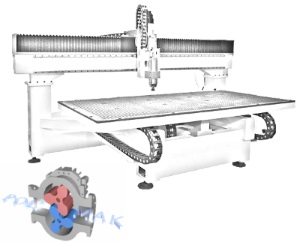 Rotary lobe positive displacement blower vacuum table