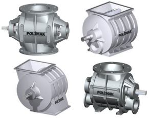 Rotary Valve Models Flow through rotary valve blow through rotary valve offset rotary valve