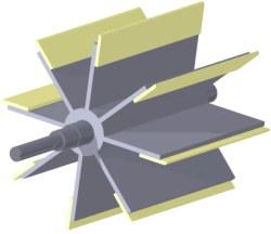 Rotary Valve Elastic Bladed Rotor