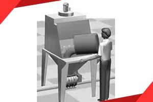 Sack-Öffnungssysteme und Sack-Entladesysteme, Sackentleerstationen