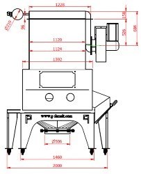 Sack opening station automatic bag opener bag slitter sack discharger