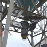 Silobas yükleme kalsit doldurma teleskobik şutları