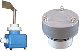 Silo pressure safety valve, silo level sensor