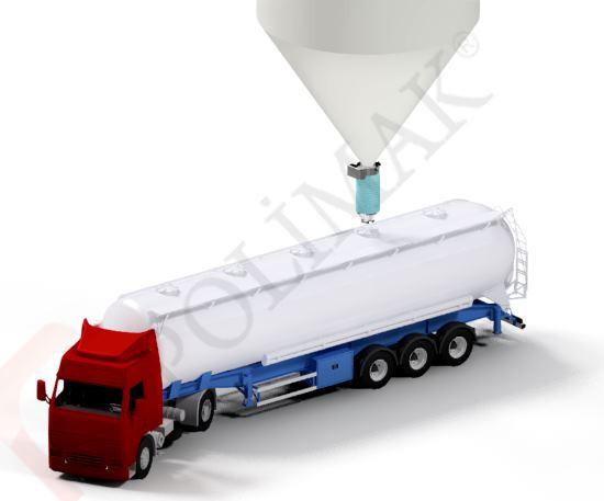 Silobas doldurma körüğü tanker dolum körükleri