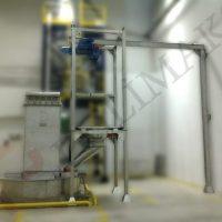Food application food grade bulk material handling systems big bag unloaders