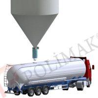 Telescopic Tanker loading bellow telescopic chutes loading spouts