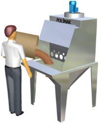 Torba Açma istasyonları Çuval bozma sistemleri