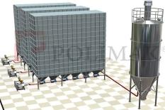 Tozsuzlaştrma filtre toz toplama sistemi